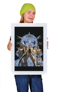 Постер Защитники Галактики   Galaxy Defenders