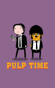 Постер Время Чтива |Pulp Time