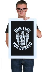 Постер Беги от Ангела | Run from the Angel