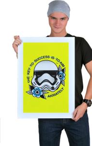 Постер Штурмовик Олдскул | Stormtrooper Oldschool