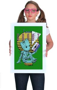 Постер Малыш Грут   Baby Groot
