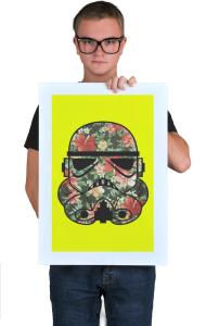 Постер Цветочный Штурмовик | Floral Stormtrooper