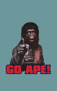 Постер Будь Обезьяной!   Go Ape!