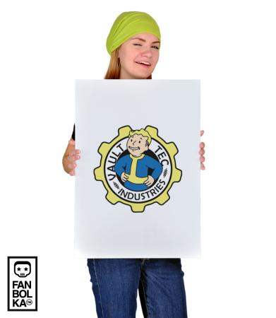 Постер Волт Тек | Vault Tec