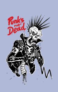 Постер Панк не Мертв | Punk's not Dead