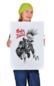 Постер Панк не Мертв   Punk's not Dead