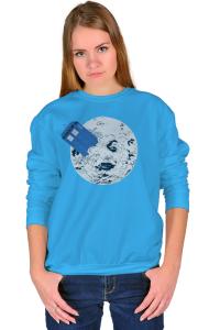 Свитшот ТАРДИС на Луне | TARDIS in Moon