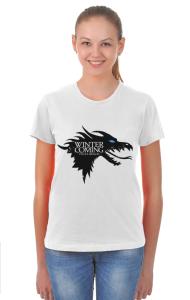 Футболка Ледяной дракон|Ice Dragon