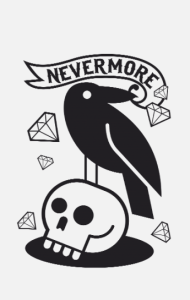 Постер Эдгар По Больше никогда|  Edgar Poe Nevermore