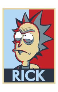 Постер Рик| Rick