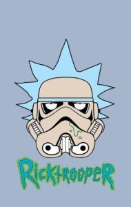 Постер Рик Штурмовик | Ricktrooper