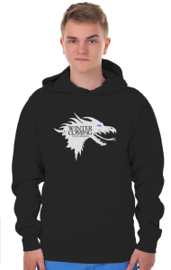 Худи Зима близко. Ледяной Дракон|Ice Dragon. Winter is coming