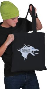 Сумка Зима близко. Ледяной Дракон|Ice Dragon. Winter is coming