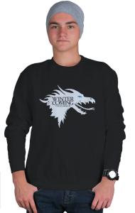 Свитшот Зима близко. Ледяной Дракон|Ice Dragon. Winter is coming