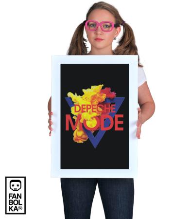 Постер Депеш Мод Глобал Спирит | Depeche Mod Global Spirit