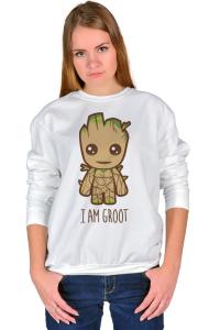 Свитшот Я есть Грут | I'm Groot