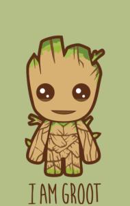 Постер Я есть Грут | I'm Groot