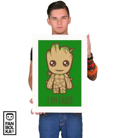 Постер Я есть Грут   I'm Groot