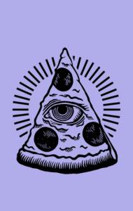 Постер Глаз Пиццы | Pizza Eye
