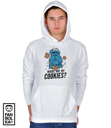 Худи Где моё печенье?   Where are my cookies?