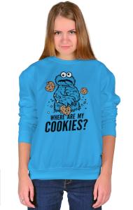 Свитшот Где моё печенье?   Where are my cookies?