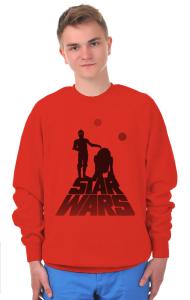 Свитшот R2D2 и C3PO | R2D2 и C3PO