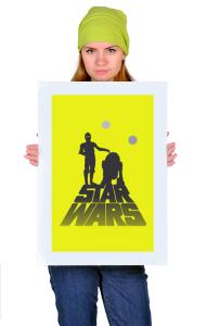 Постер R2D2 и C3PO | R2D2 и C3PO