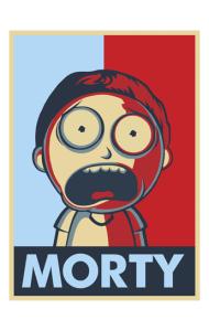 Постер Морти   Morty