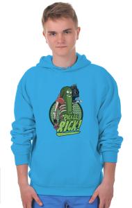 Худи Огурчик Рик   Pickle Rick