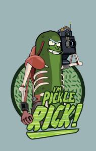 Постер Огурчик Рик | Pickle Rick
