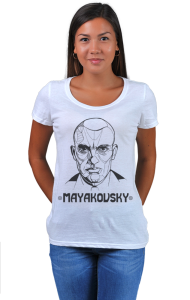 Футболка Маяковский | Mayakovsky