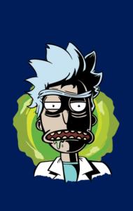 Постер Злой Рик | Angry Rick