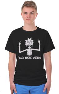 Футболка Мир Между Мирами | Peace Among Worlds