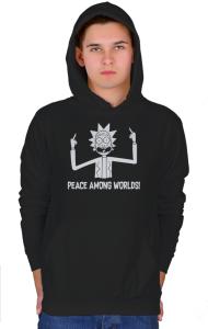 Худи Мир Между Мирами   Peace Among Worlds