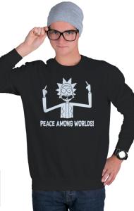 Свитшот Мир Между Мирами | Peace Among Worlds