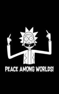 Постер Мир Между Мирами | Peace Among Worlds