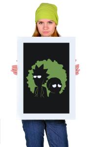 Постер Рик и Морти   Rick and Morty