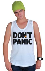 Футболка Не Паникуй | Don't Panic