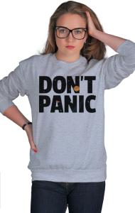 Свитшот Не Паникуй | Don't Panic