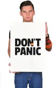Постер Не Паникуй | Don't Panic
