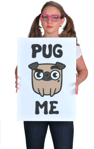 Постер Мопс | Pug