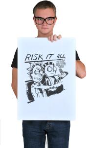 Постер Рискуй Всем | Risk it All