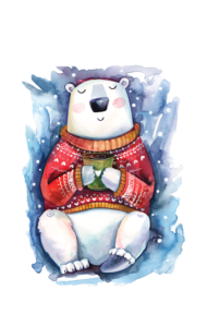 Постер Белый Мишка | White Bear
