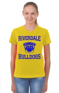 Футболка Бульдоги Ривердэйла | Riverdale Bulldogs