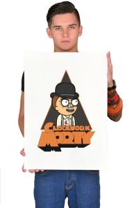 Постер Заводной Морти | Clockwork Morty