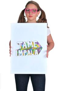 Постер Тэйм Импала Рисунок | Tame Impala Draw