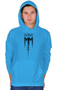 Худи Мэрилин Мэнсон Лого | Marilyn Manson Logo