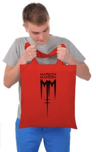 Сумка Мэрилин Мэнсон Лого | Marilyn Manson Logo