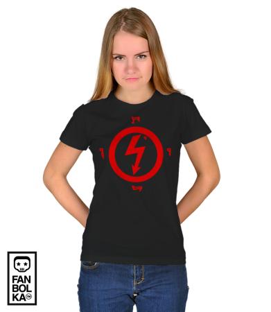 Футболка Мэрилин Мэнсон Лого 2 | Marilyn Manson Logo 2