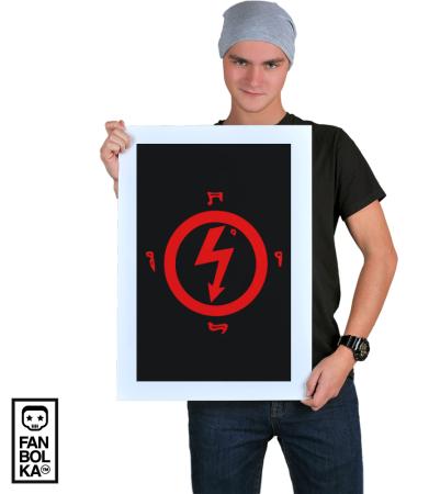 Постер Мэрилин Мэнсон Лого 2 | Marilyn Manson Logo 2